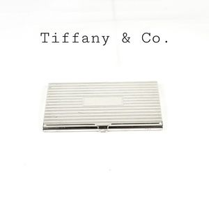 Tiffany & Co. Sterling Business Card Holder